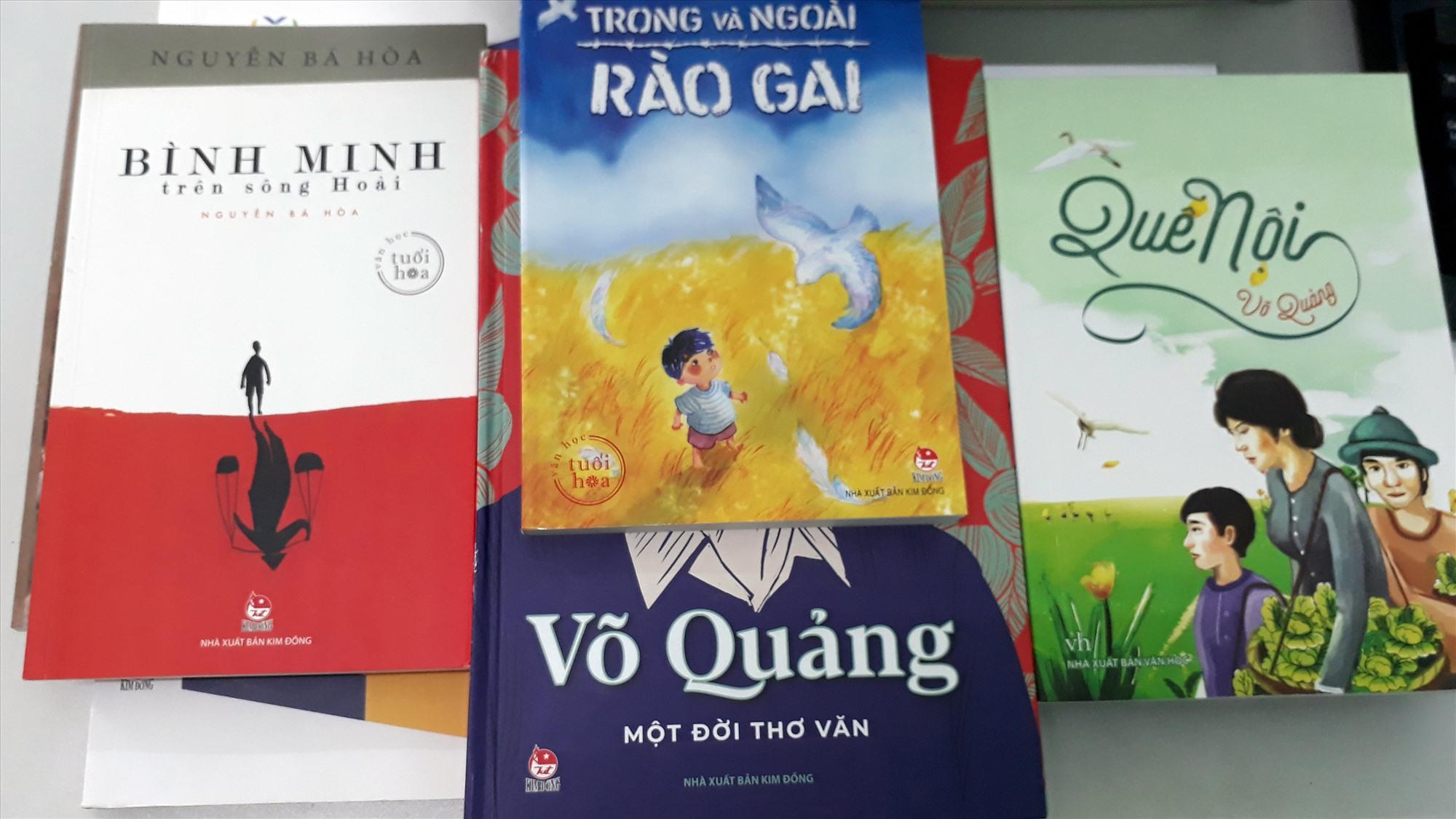 Sách của tác giả xứ Quảng ở NXB Kim Đồng.