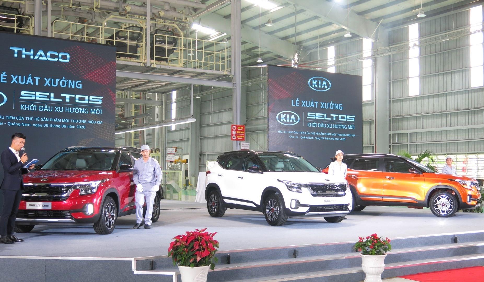 Kia Seltos với 3 phiên bản: Deluxe, Luxury, Premium