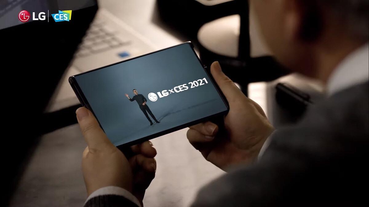Điện thoại thông minh có thể cuộn lại của hãng LG là một trong những sản phẩm điện thoại cạnh tranh hiện nay. Do vậy, LG không thể bỏ lỡ cơ hội để ra mắt dòng sản phẩm này tại CES 2021, dù qua hình thức