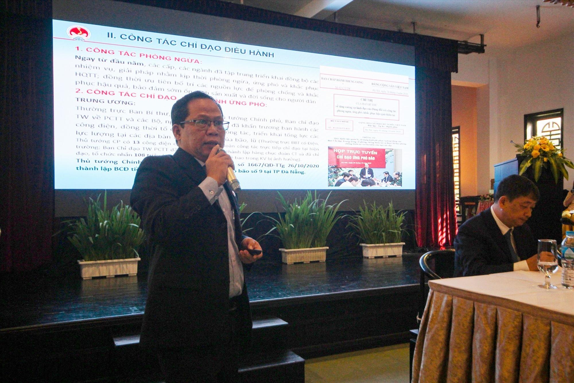 Nhiều ý kiến tham luận, thảo luận của các chuyên gia được trình bày tại hội thảo. Ảnh: T.C