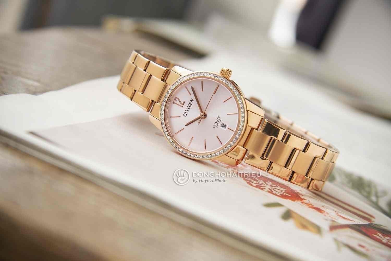 Bền bỉ với thời gian là điều mà mọi đồng hồ của thương hiệu Citizen đều có được - Citizen EU6032-85A