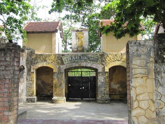 Nhà tù Côn Đảo - nơi Dương Bá Trạc bị giam và Huỳnh Thúc Kháng viết câu đối viếng. Ảnh: Toquoc.vn