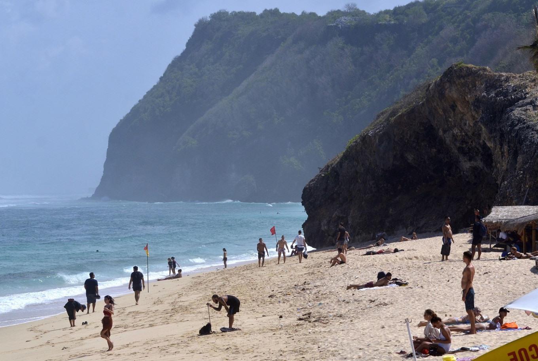 Đảo Bali, Indonesia từng đón nhiều khách du lịch quốc tế trước đại dịch Covid-19. Ảnh: JakartaPost