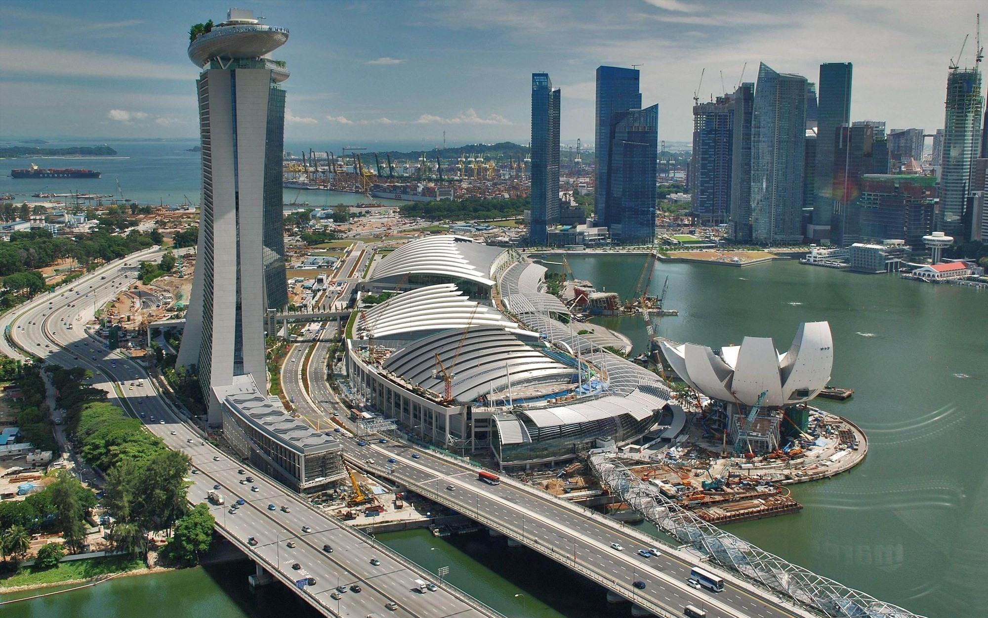 Điểm đến nổi tiếng Singapore. Ảnh: