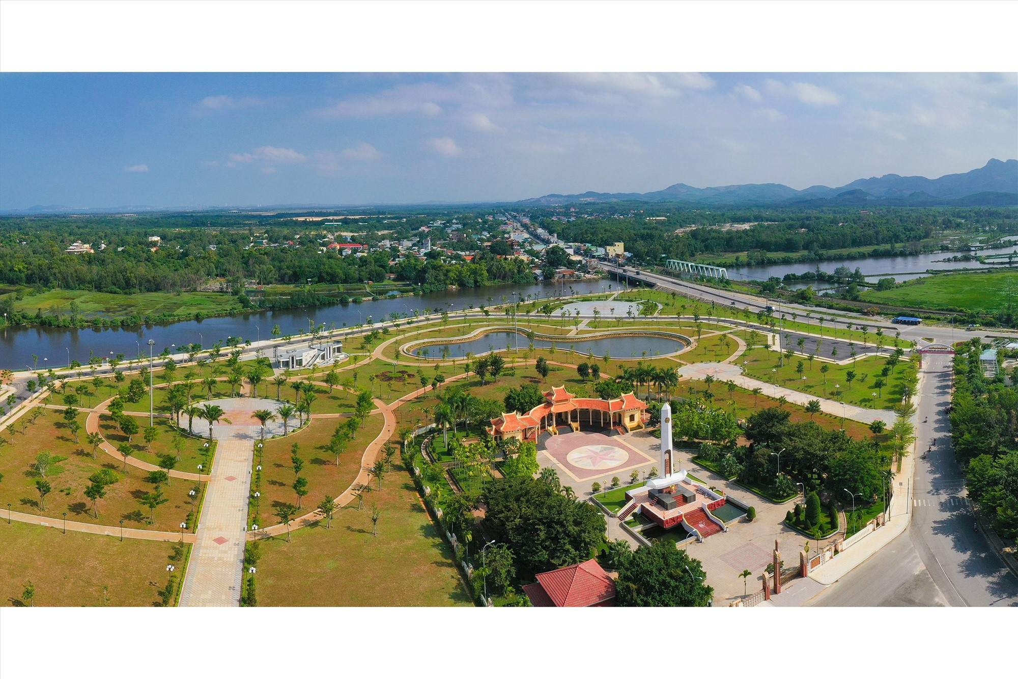 Núi Thành xác định xây dựng đô thị hiện đại theo hướng bền vững, bảo tồn văn hóa và gắn với môi trường. Ảnh: HU.NT