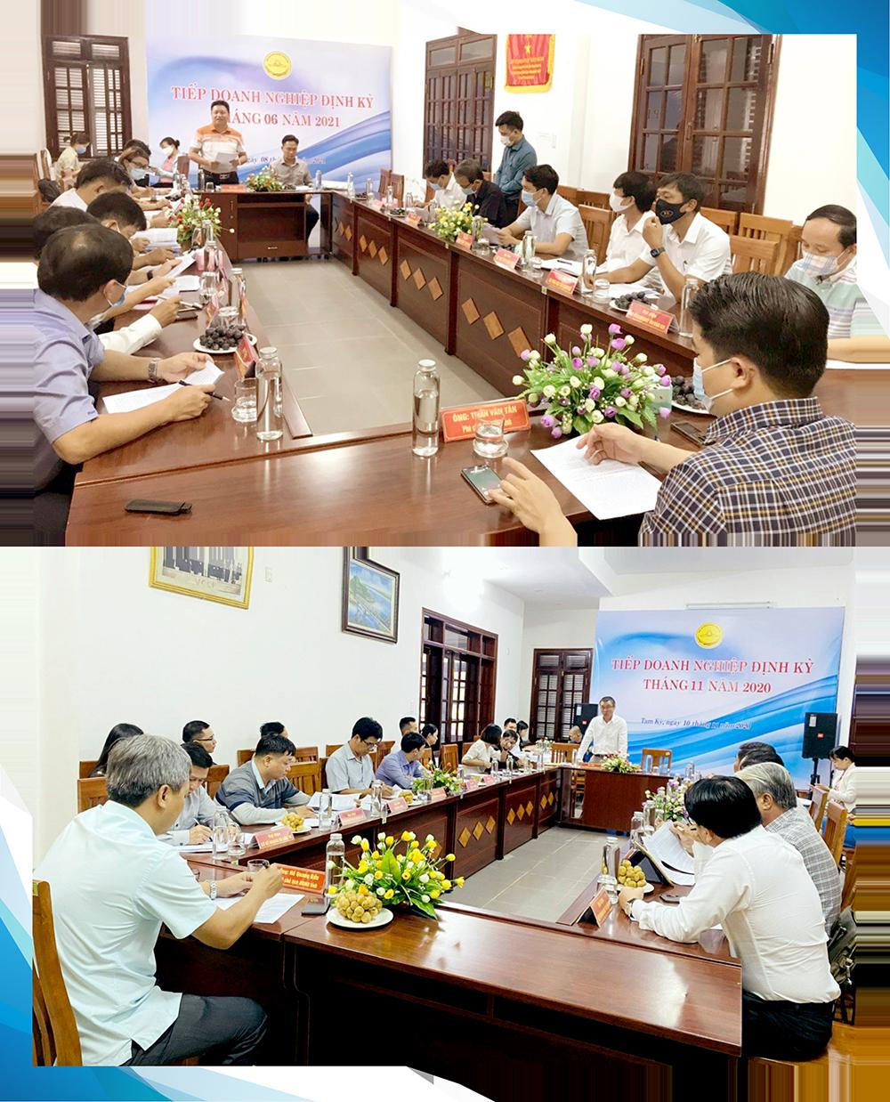 Lãnh đạo tỉnh Quảng Nam luôn tiếp doanh nghiệp định kỳ.