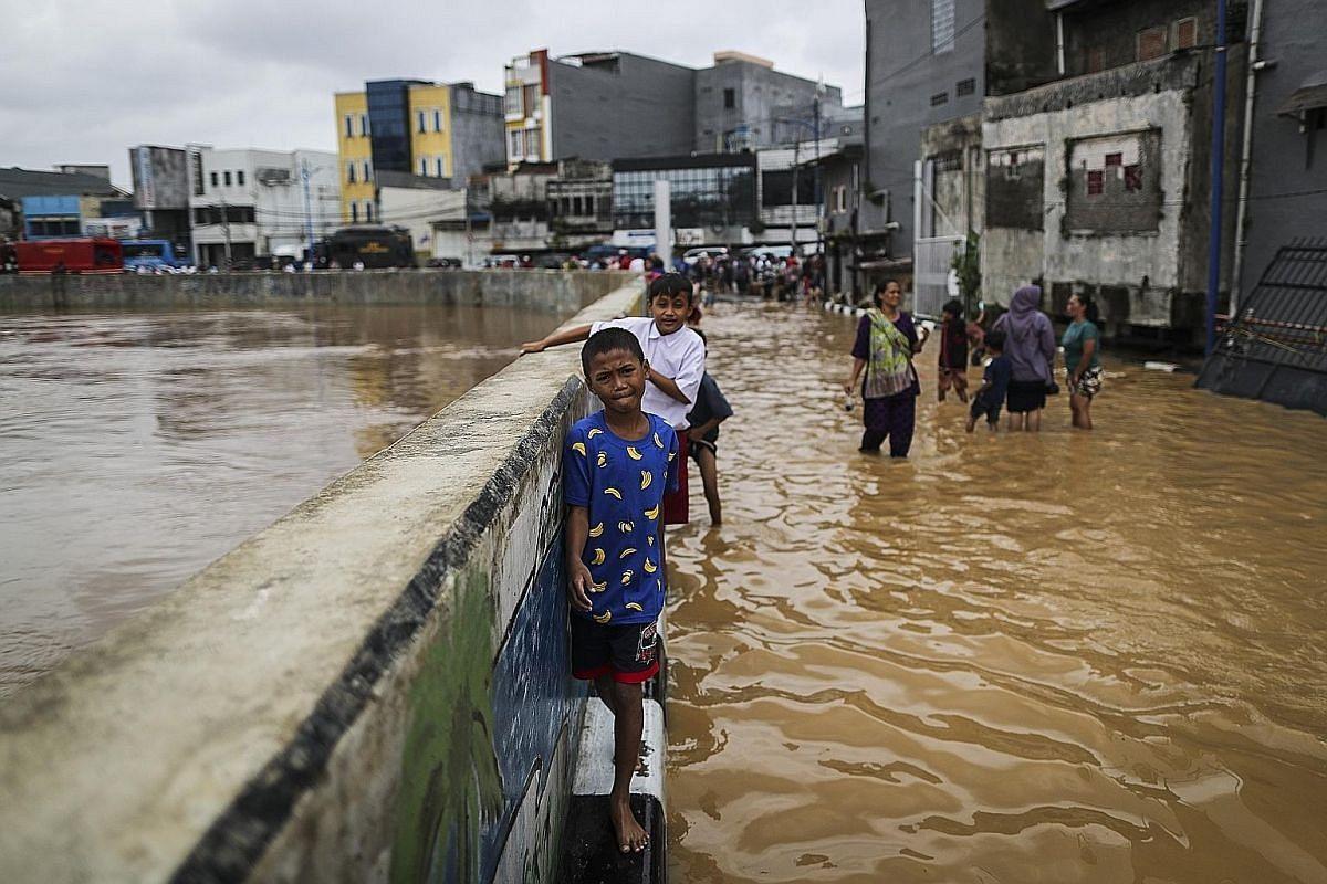 Indonesia xây tường khổng lồ ngăn Jakarta chìm xuống biển. Ảnh: urbanisthanoi