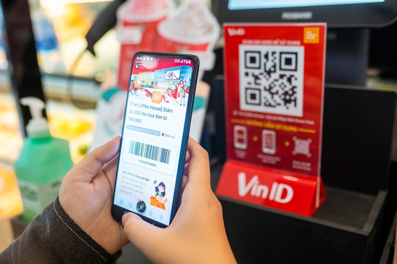 Khách hàng dễ dàng sử dụng voucher để thanh toán bằng cách quét mã QR code
