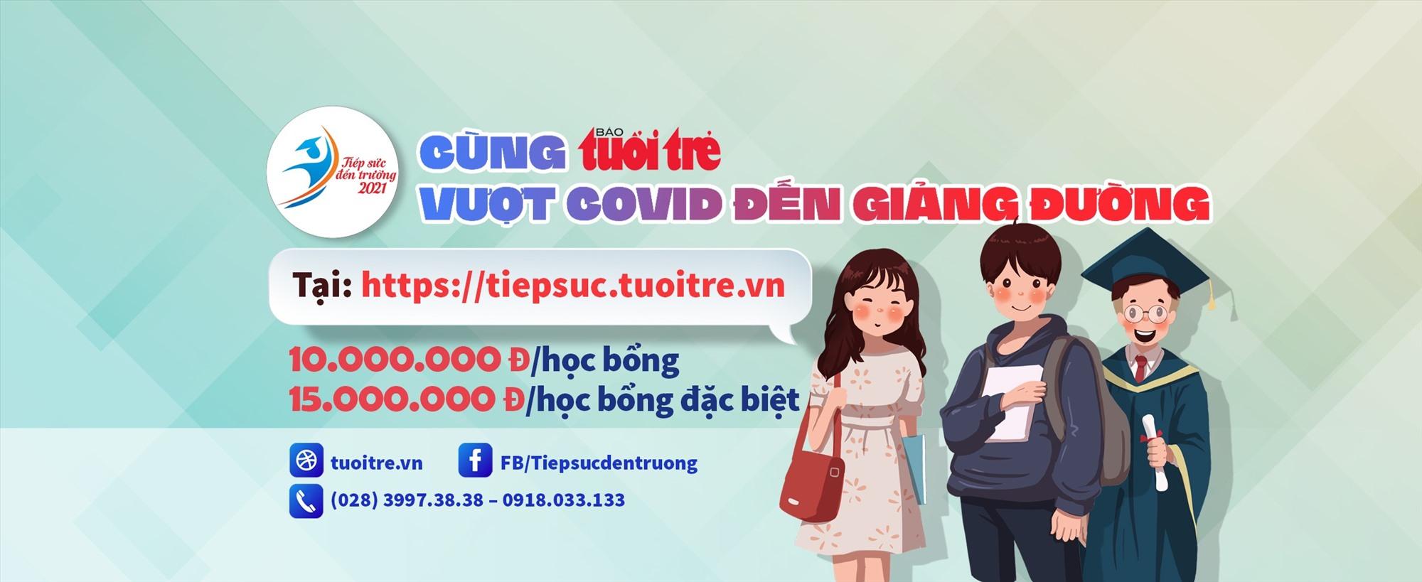 """120 suất học bổng """"Tiếp sức đến trường"""" dành cho tân sinh viên Quảng Nam"""