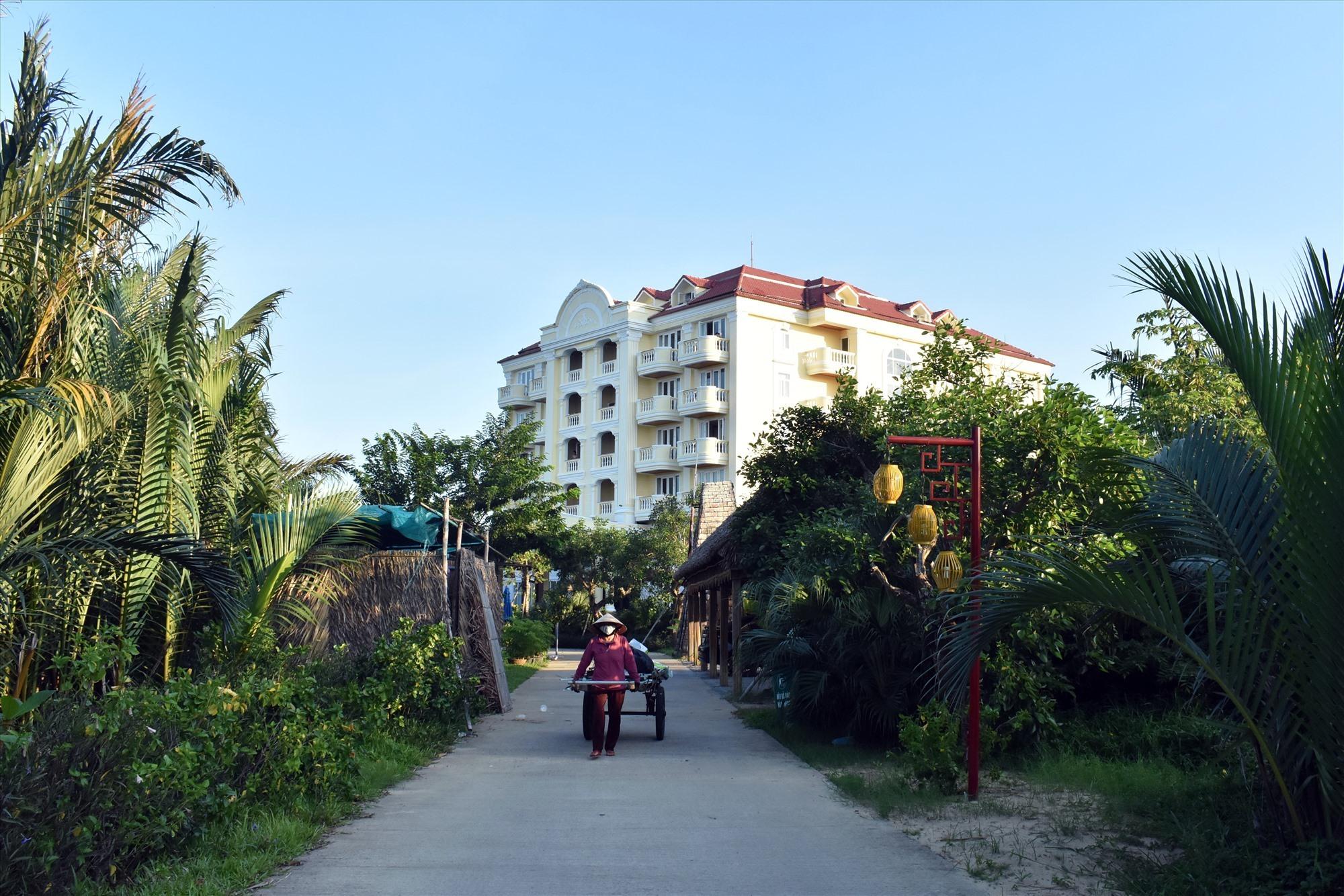 Quảng Nam có 24 cơ sở lưu trú đón người cách ly tập trung có thu phí, trong đó có Khách sạn Victoria - Ảnh:V.L