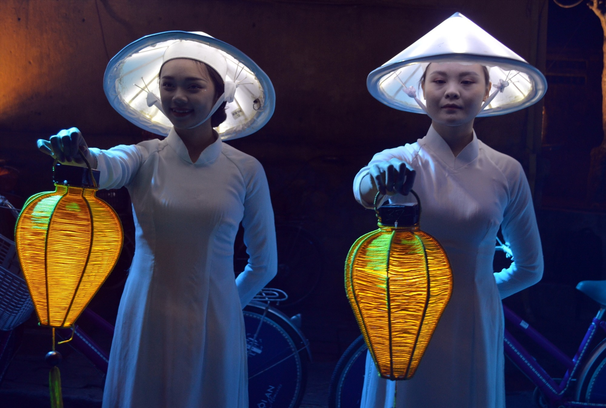A scene in the Hoi An memories show