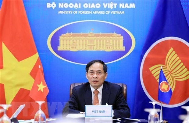 Vietnamese Minister of Foreign Affairs Bui Thanh Son. (Photo: VNA)