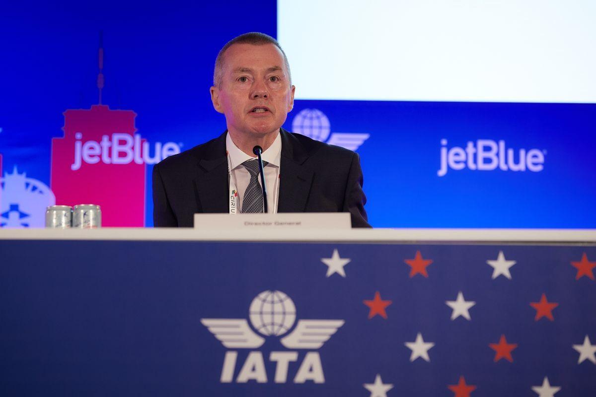 Tổng Giám đốc IATA, ông Willie Walsh. Ảnh: IATA