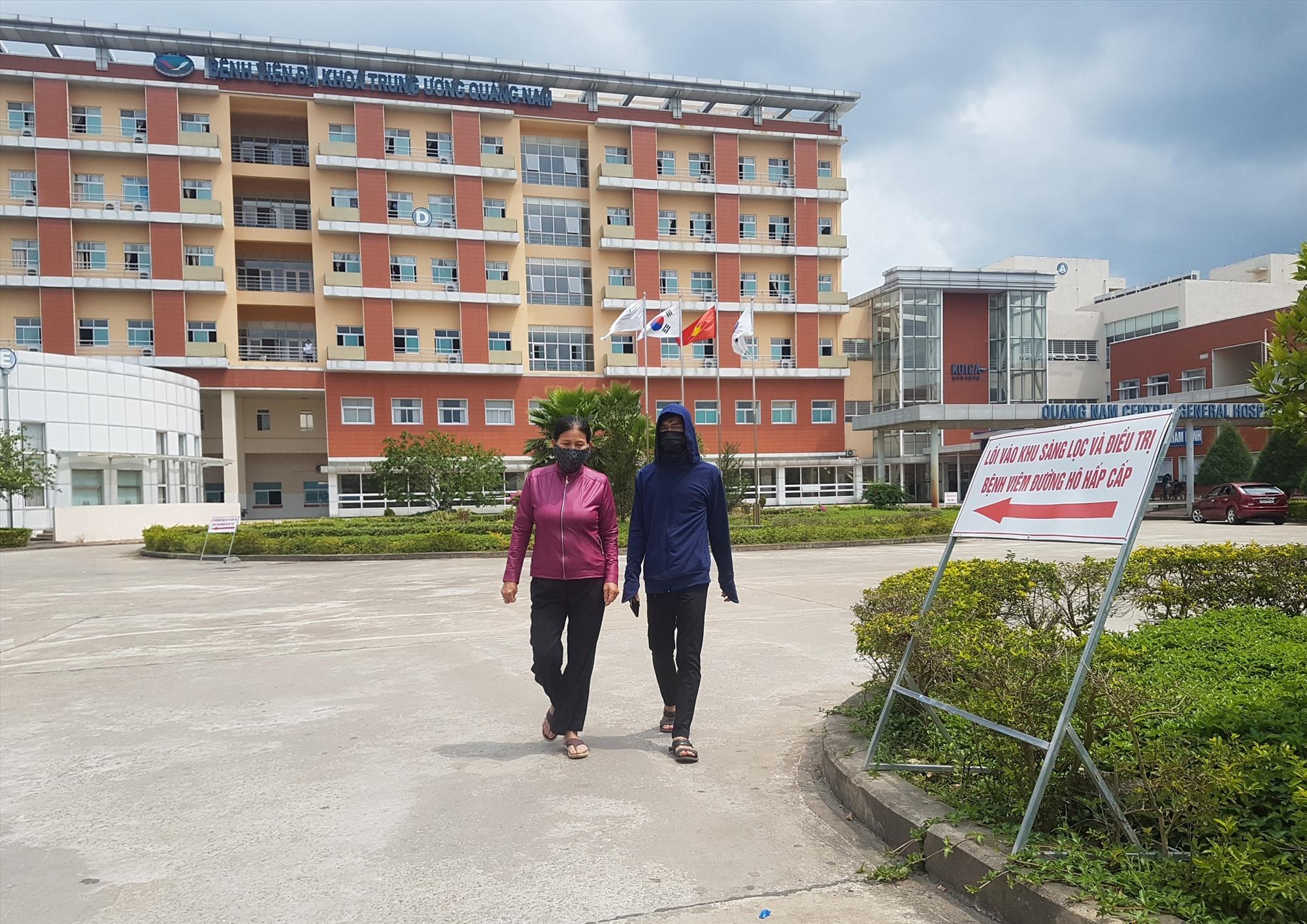 BV Đa khoa Trung ương Quảng Nam tiến hành phong tỏa toàn viện từ ngày 6.10.