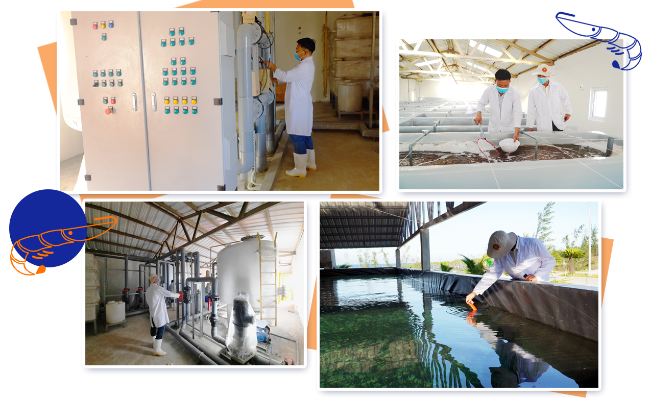 Hệ thống xử lý nước thải hiện đại được Nam Mỹ đầu tư. Ảnh: L.Đ.Q