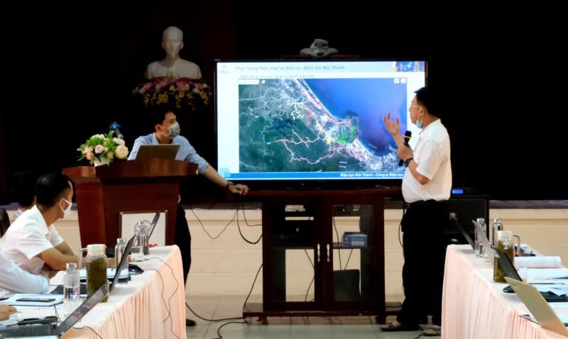 PC Quảng Nam chú trọng ứng dụng công nghệ để nâng cao hiệu quả công tác. Ảnh: Đ.H