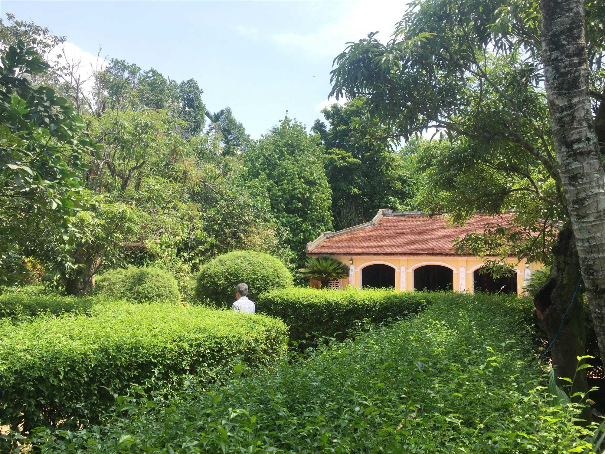 Nhà lưu niệm cụ Huỳnh Thúc Kháng.