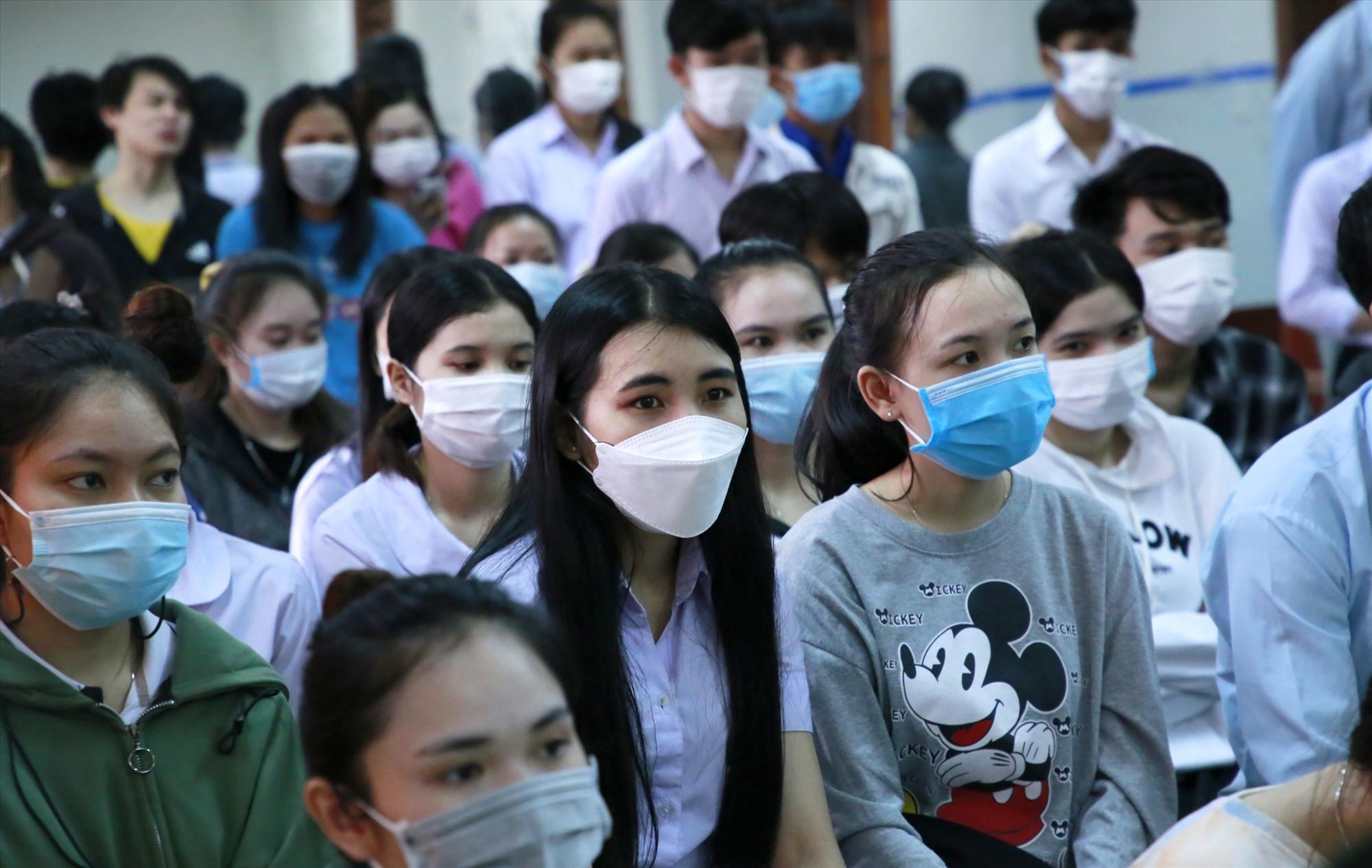 Hiện trường Đại học Quảng Nam có gần 130 sinh viên Lào đang theo học. Ảnh: T.C