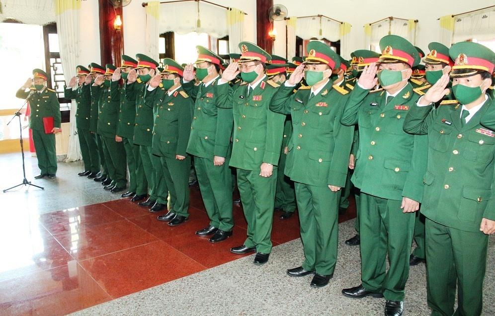 Lễ dâng hương Chủ tịch Hồ Chí Minh tại Bảo tàng Hồ Chí Minh - Chí nhánh Quân khu 5.