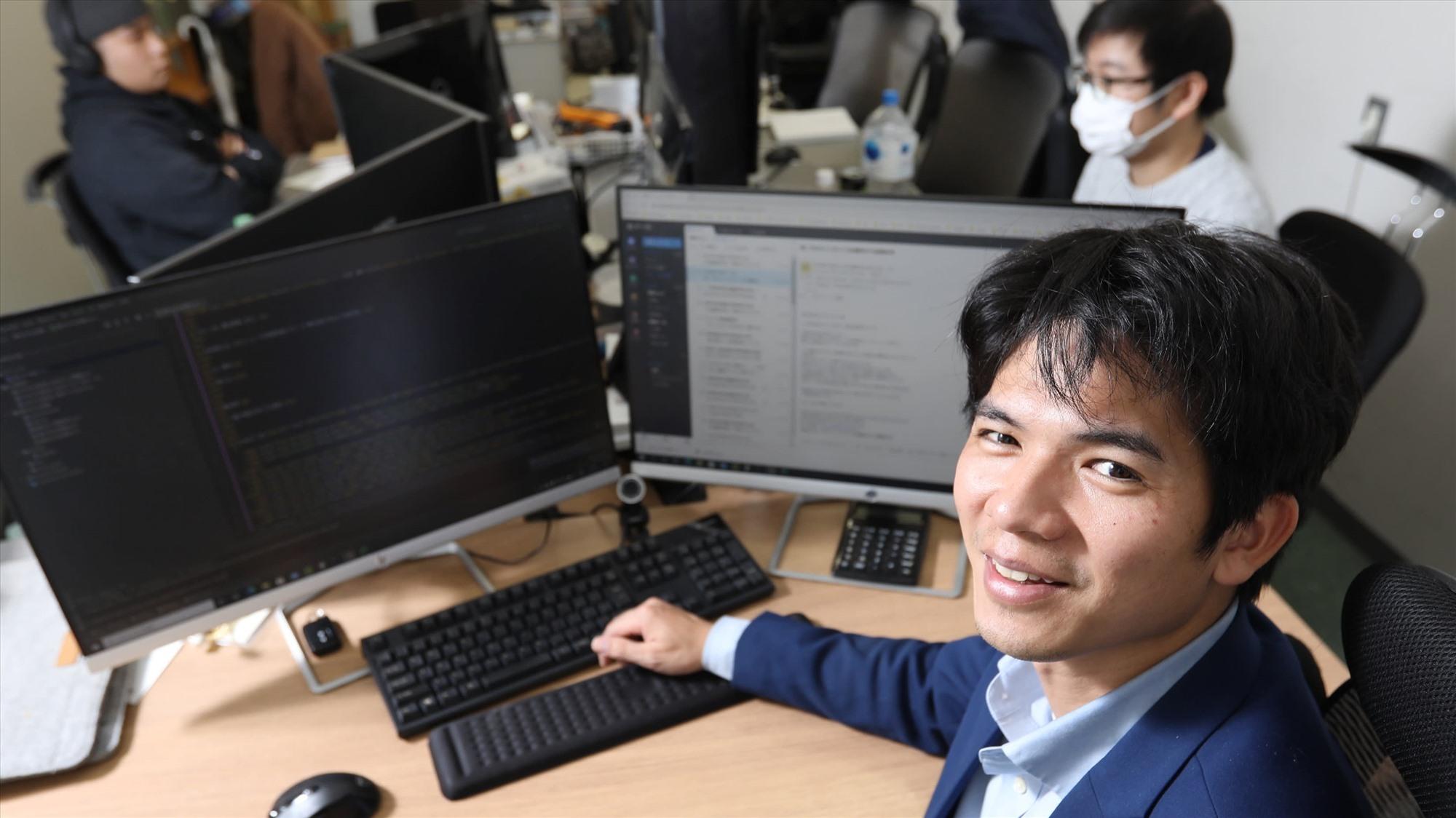 Nhà khởi nghiệp Nguyễn Công Thành. Ảnh: asianikkei