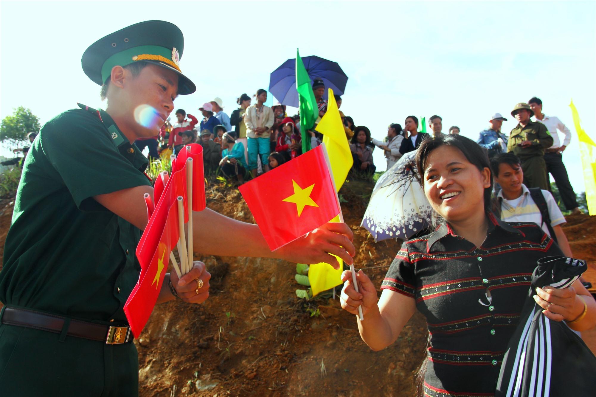 Ngày hội Biên phòng toàn dân được tổ chức