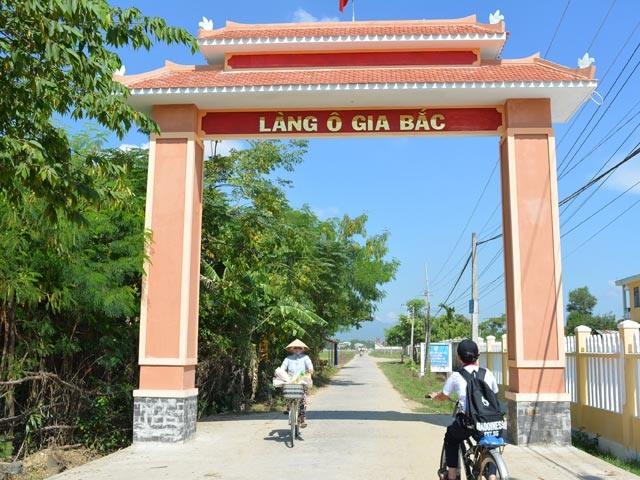 Đường về làng. Ảnh: Cổng thông tin huyện Đại Lộc