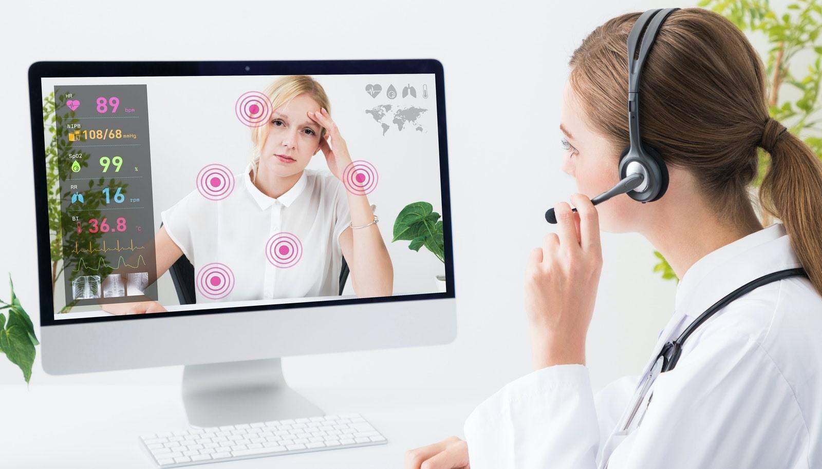 Dịch vụ y tế từ xa, một trong những xu thế thịnh hành trong cuộc sống bình thường mới. Ảnh: ttp.com