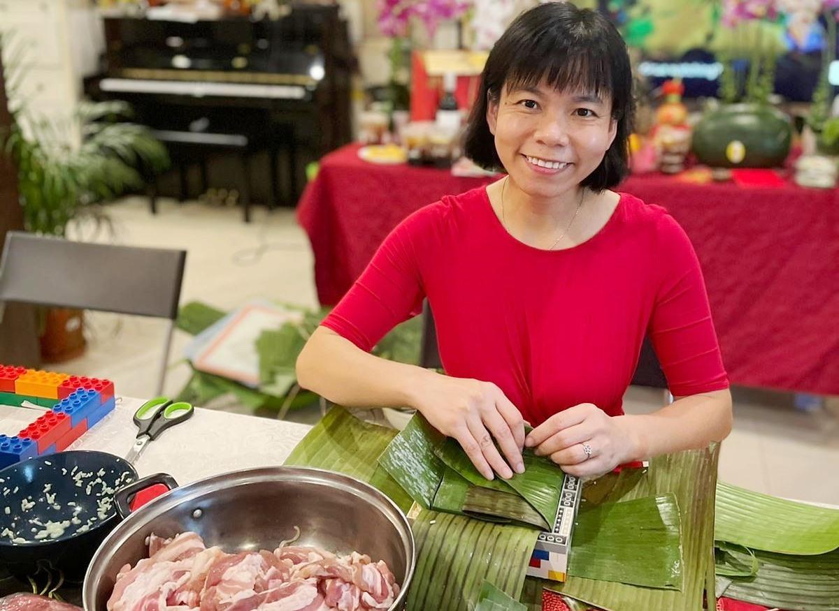 Bánh chưng - tượng trưng đất mẹ của người Việt