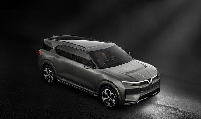 VinFast VF33 - mẫu SUV thuộc phân khúc E - dự kiến đến tay người tiêu dùng Mỹ vào quý II/2022.