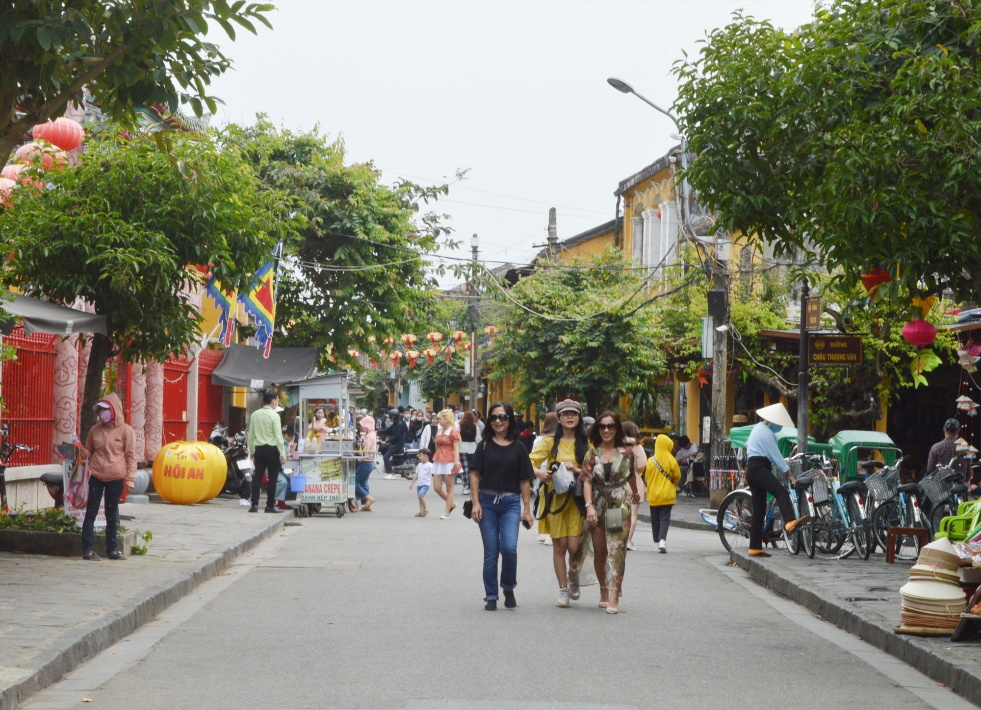 More visitors to Hoi An ancient quarter after Covid-19