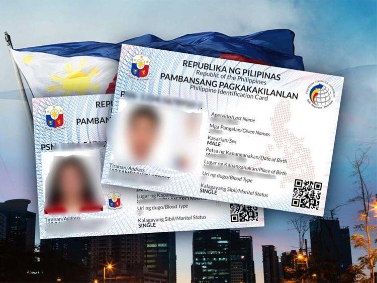 Thẻ căn cước số của công dân Philippines. Ảnh: social media