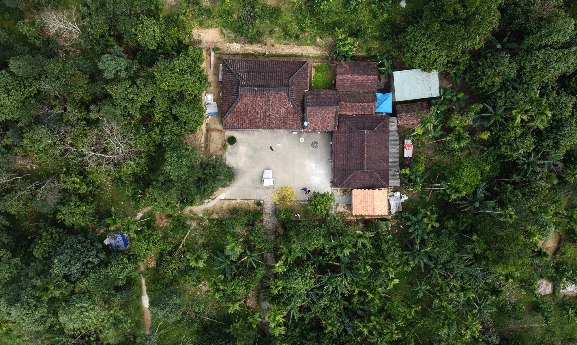 an old house in Loc Yen village