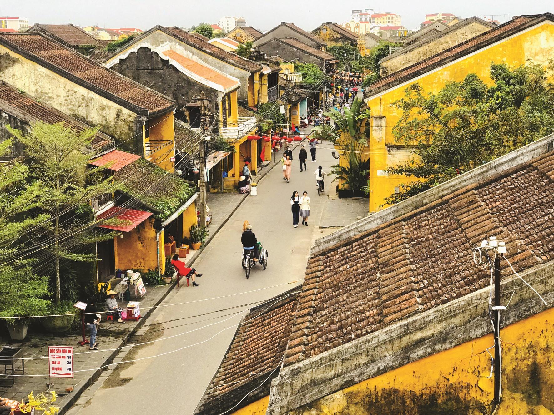 Hội An đang hướng đến kế hoạch xây dựng đô thị có khả năng chống chịu cao, phục hồi tốt hơn trước các tác động trong tương lai. Ảnh: Q.T