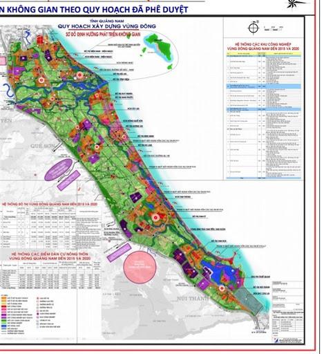 East region planning of Quang Nam. Ảnh: nld