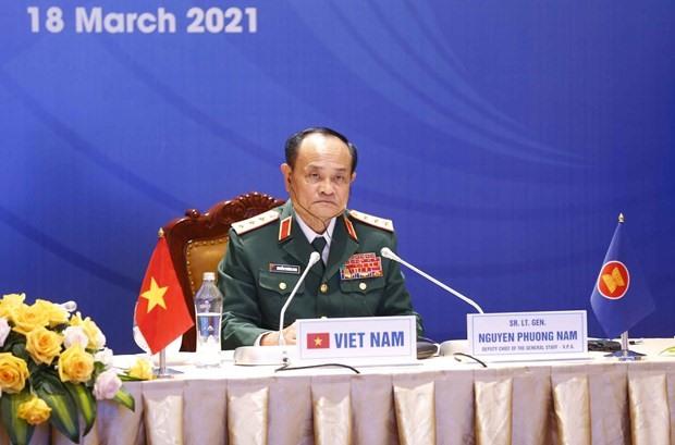 Deputy Chief of the General Staff of the Vietnam People's Army, Sen. Lieut. Gen. Nguyen Phuong Nam (Photo: VNA)