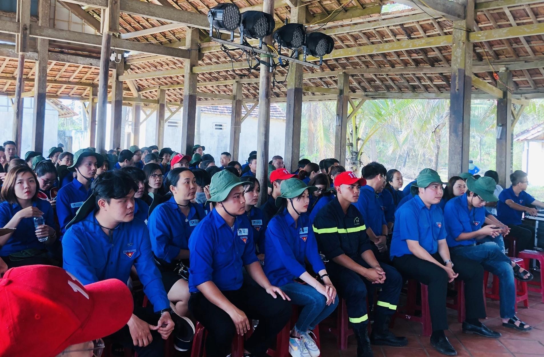 Hơn 150 đoàn viên tham gia Ngày hội đoàn viên của Đoàn Khối các cơ quan tỉnh.