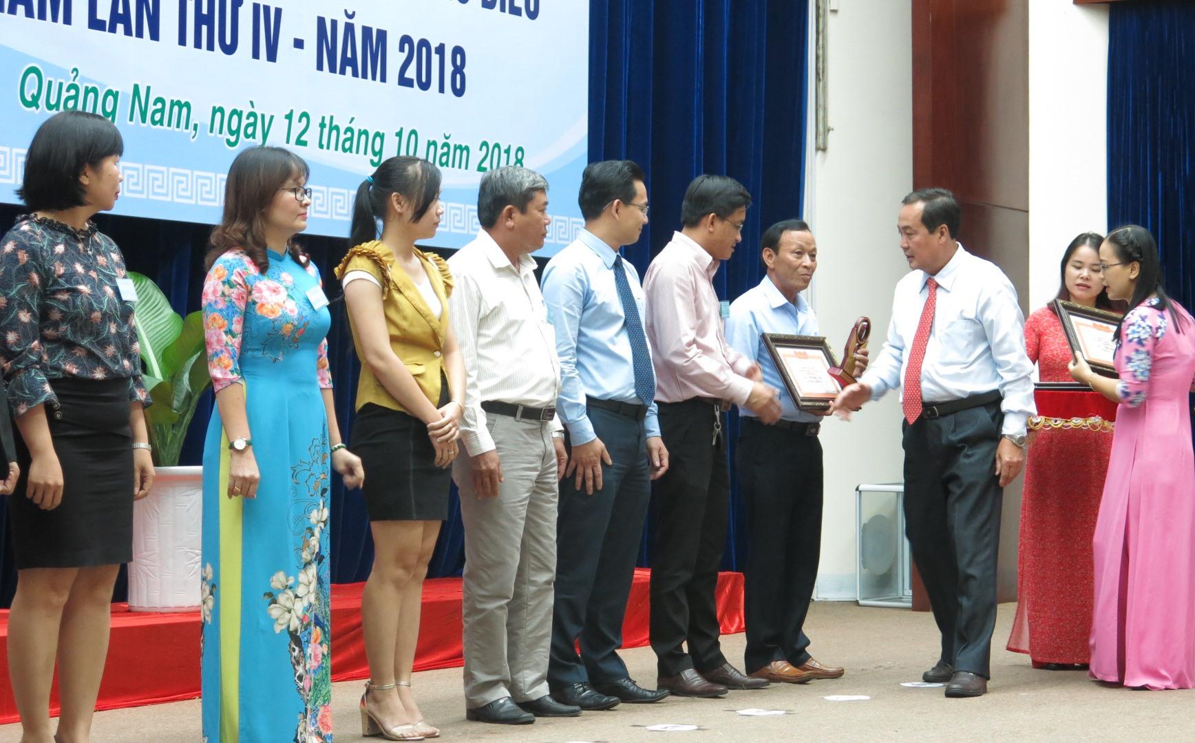 Lễ vinh danh doanh nghiệp, doanh nhân tiêu biểu là sự ghi nhận của tỉnh về nỗ lực đóng góp cho sự phát triển của Quảng Nam. Ảnh: T.D