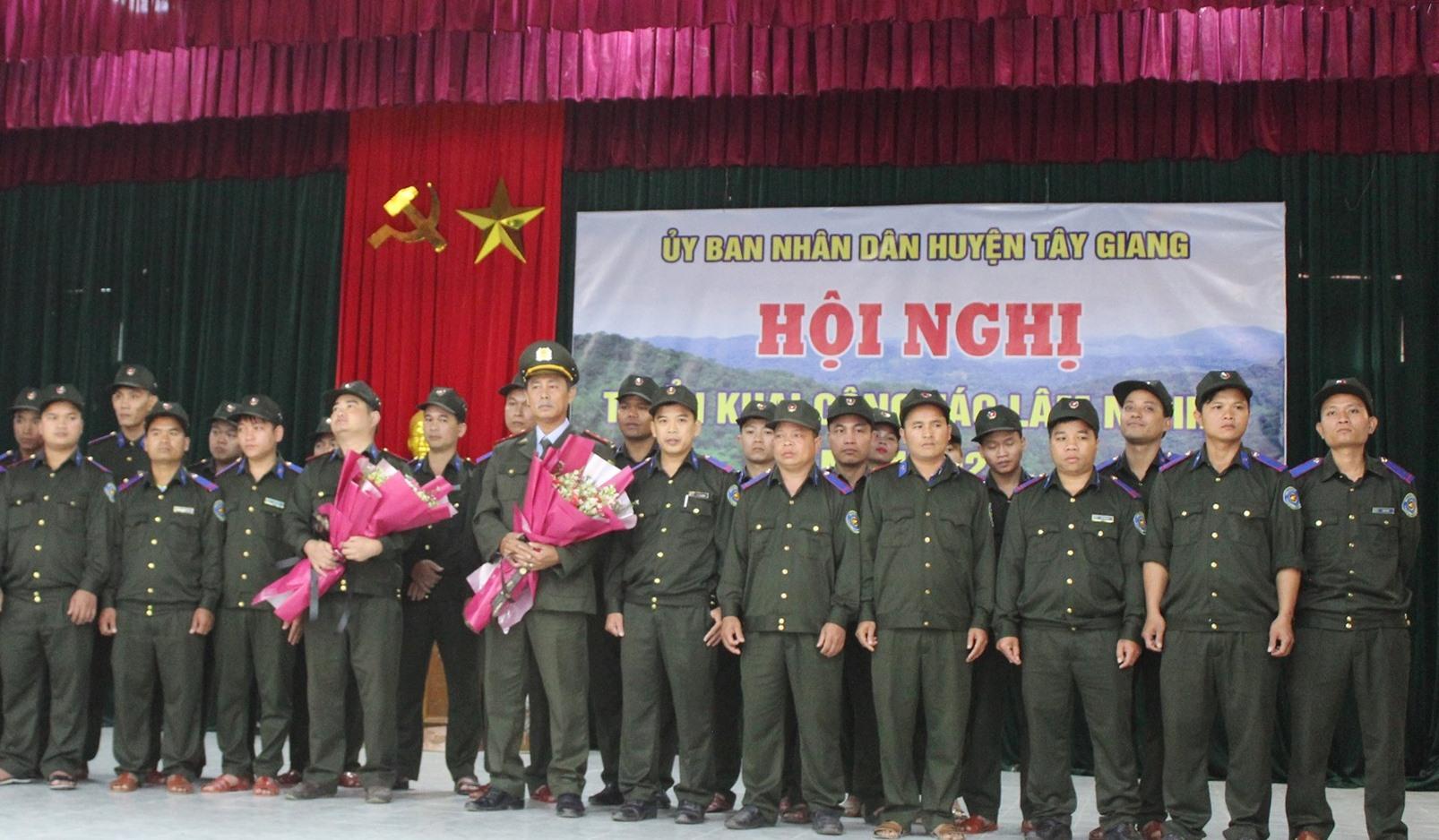 Thành lập lực lượng bảo vệ rừng chuyên trách huyện Tây Giang