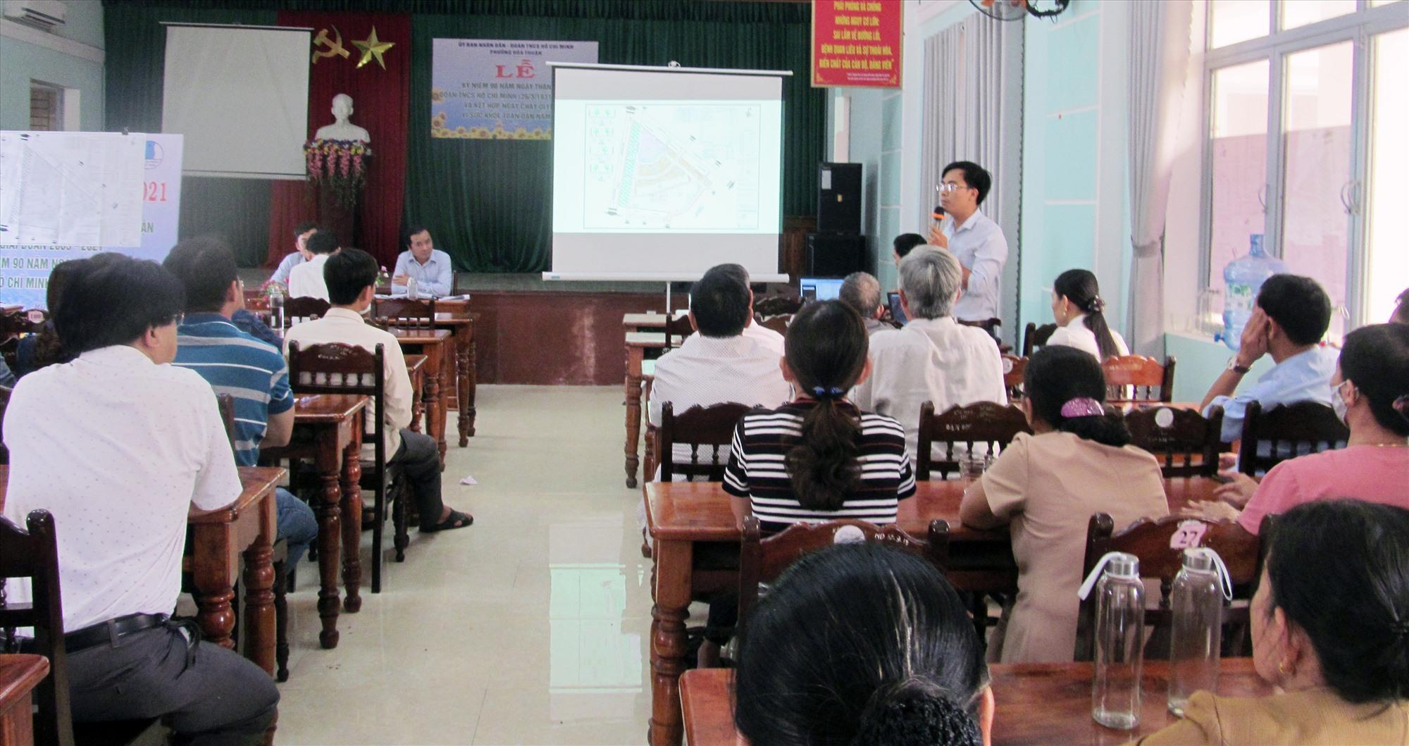 Triển khai đề án khu dân cư, tái định cư Mỹ Thạch Trung.