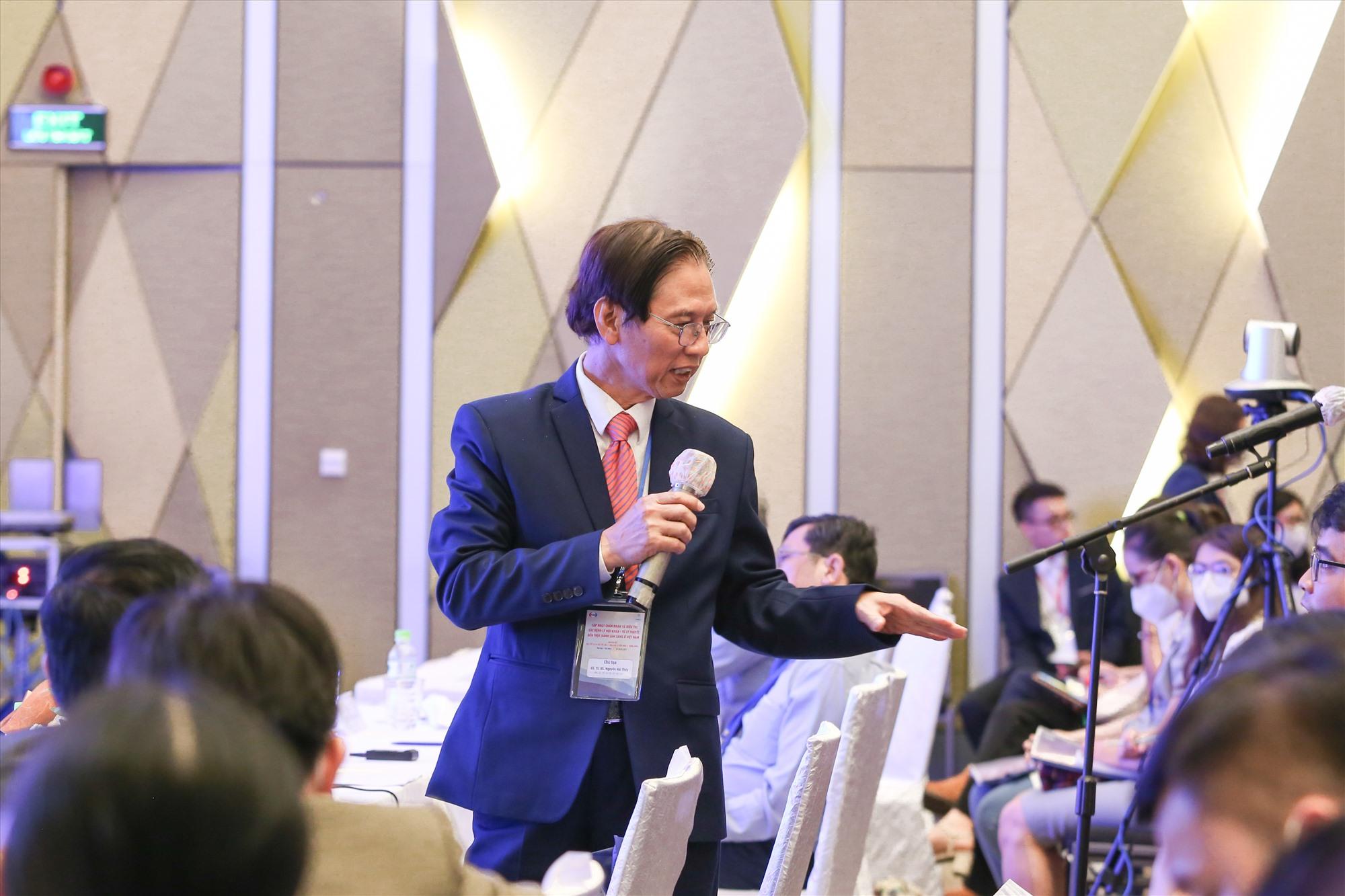 Nhiều thông tin quý giá được các chuyên gia chia sẻ tại Hội nghị