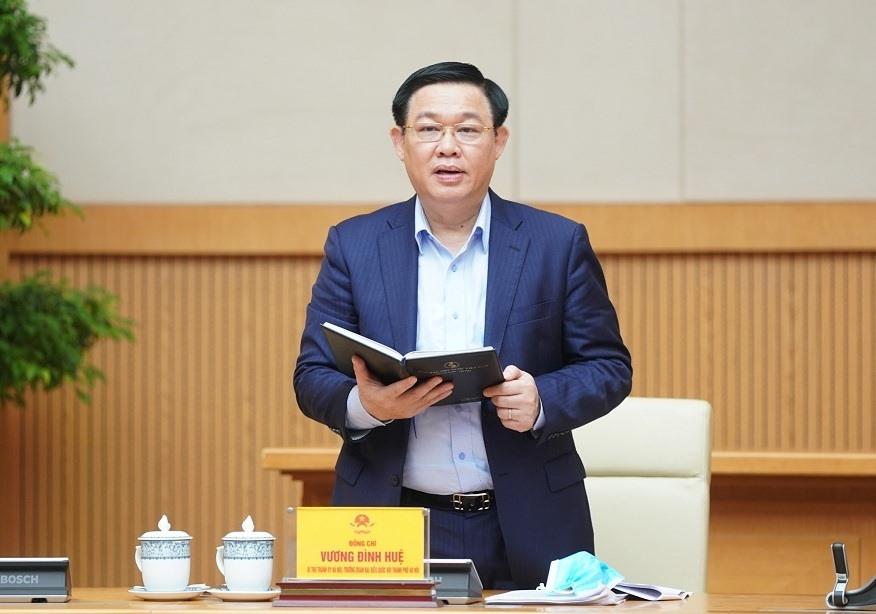 Bí thư Thành ủy Hà Nội Vương Đình Huệ