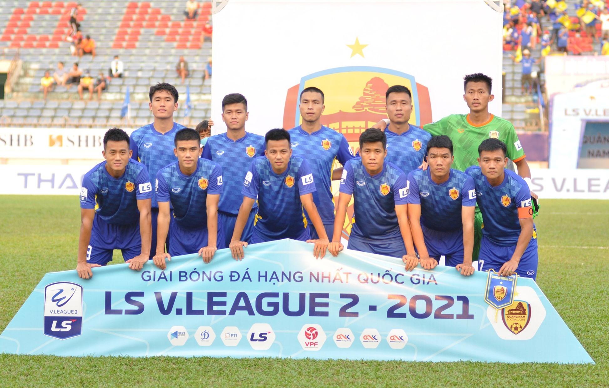 Đội hình Quảng Nam gồm nhiều cầu thủ chất lượng và kinh nghiệm nhưng chưa thể hiện được gì nhiều qua 2 trận đấu. Ảnh: A.NHI