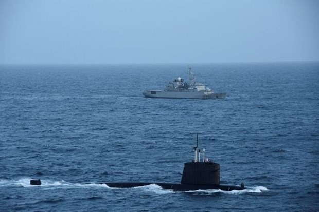 SNA Emeraude submarine (Photo: Internet)