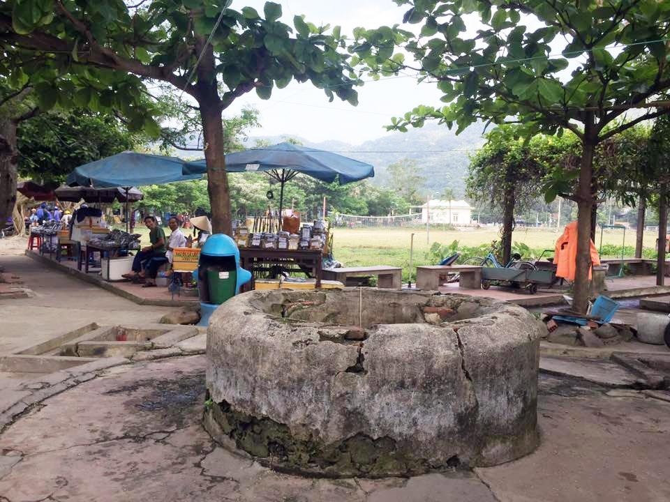 Giếng Chăm tại Cù Lao Chàm.