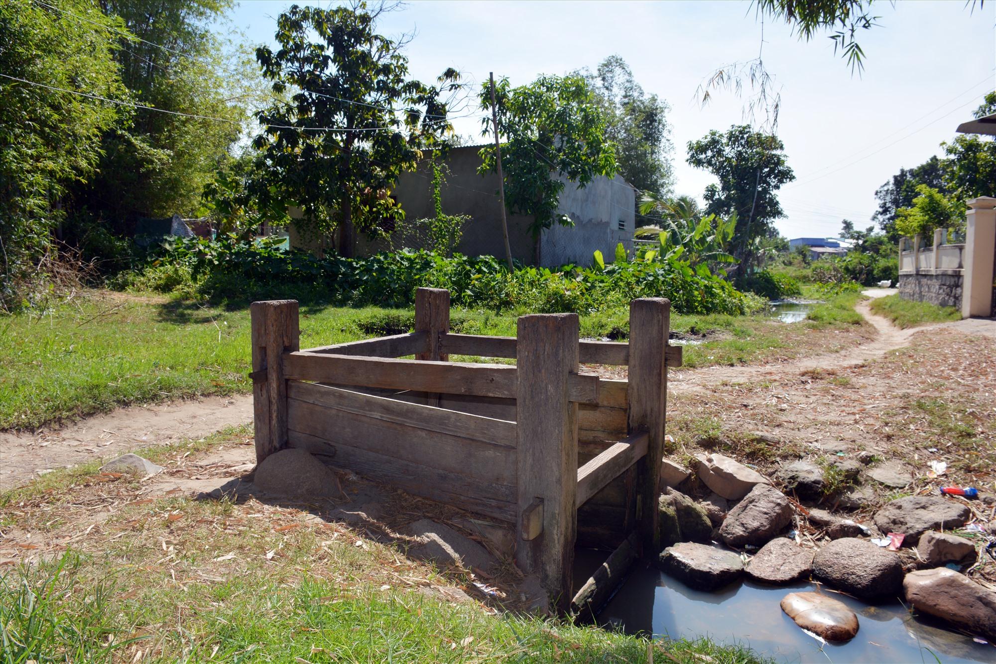 Giếng Chăm tại làng Chăm Thành Tín - Ninh Thuận. Ảnh: KIỀU MAILY