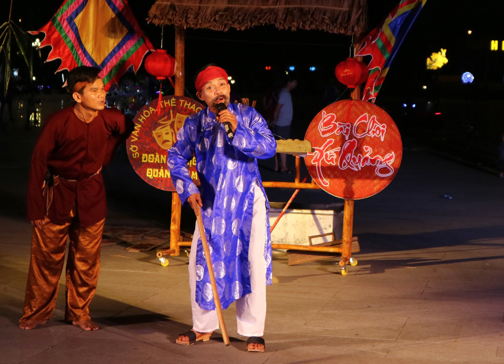 Thực trạng thiếu nguồn nhân lực hoạt động trong lĩnh vực văn hóa là điều Quảng Nam đối diện lâu nay. Ảnh: PHƯƠNG THẢO