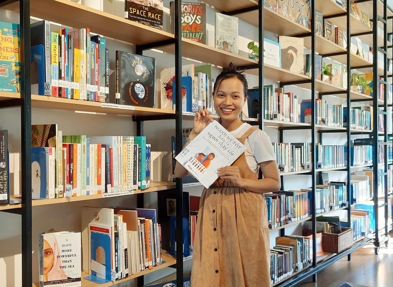 Nguyễn Thị Thanh Hoàng - chủ nhân An's book Garden.