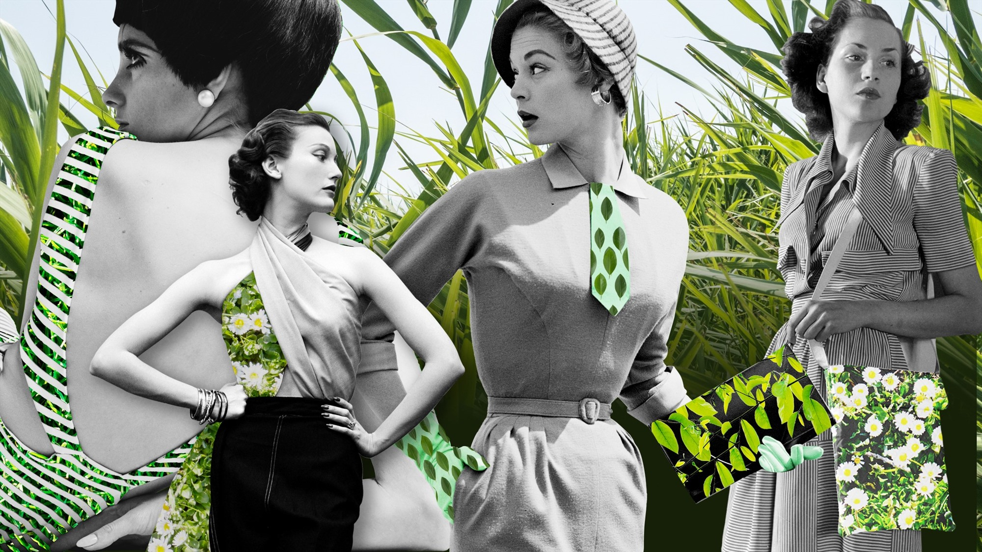 Những bộ sưu tập thời trang từ nguyên liệu thân thiện môi trường ngày càng được quan tâm. Ảnh: ft