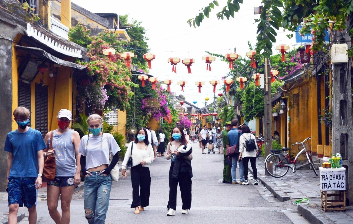 Quảng Nam được Bộ VH-TT&DL chọn làm nơi thí điểm đón khách du lịch quốc tế