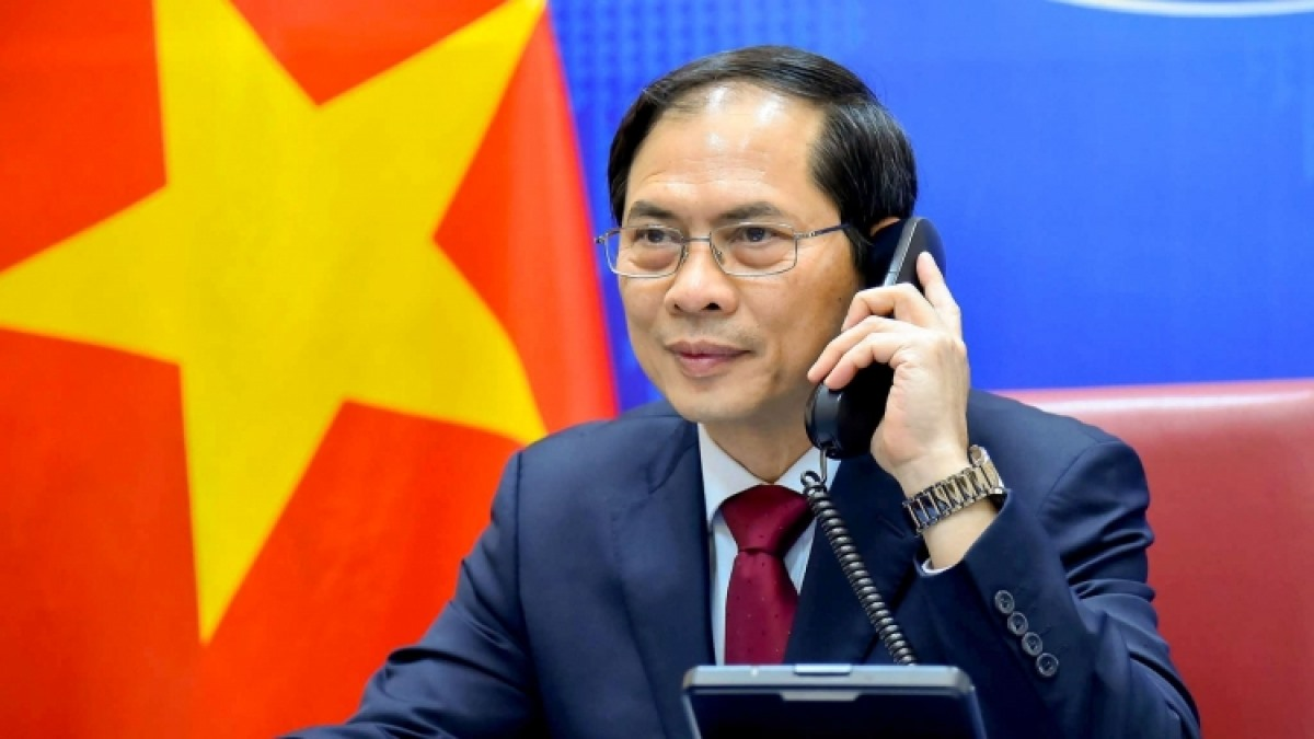 Foreign Minister Bui Thanh Son (Photo: The Vietnamese Ministry of Foreign Affairs )
